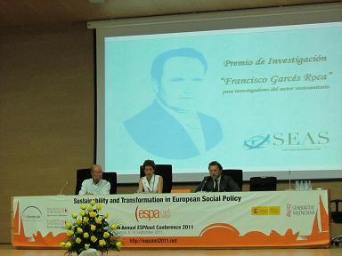 """Entrega IV Edición del Premio de Investigación """"Francisco Garcés Roca"""""""