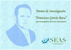 """V Convocatoria del Premio de Investigación «Francisco Garcés Roca"""""""